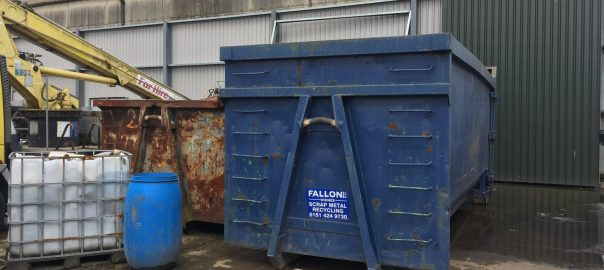 Scrap Metal Skip Hire in Frodsham