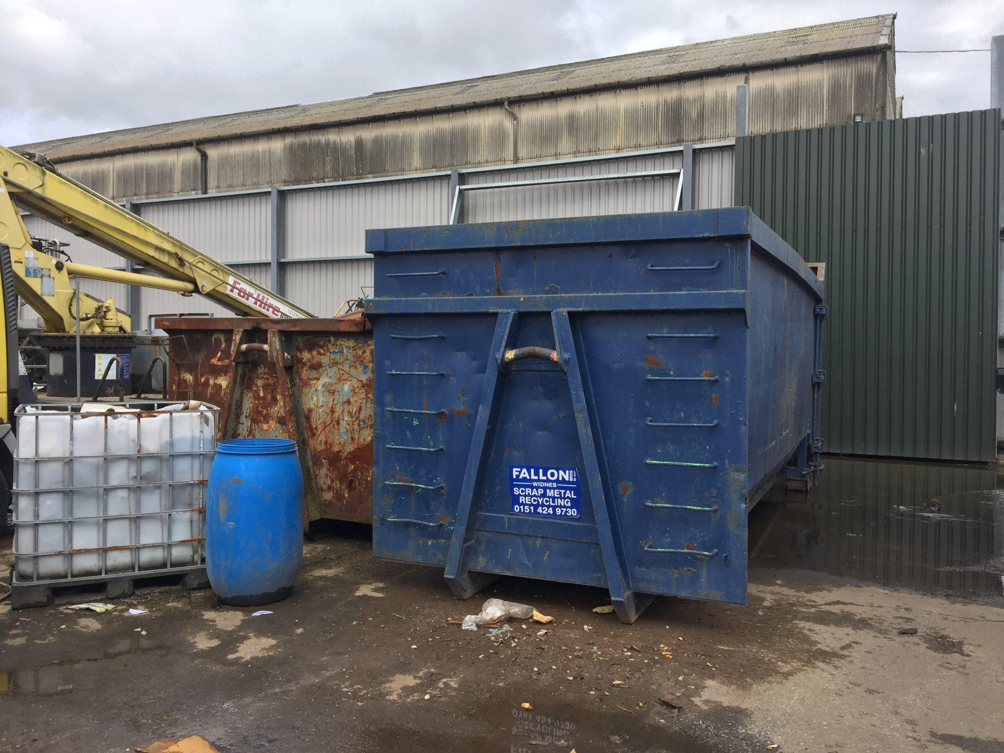 Scrap Metal Skip Hire in Frodsham