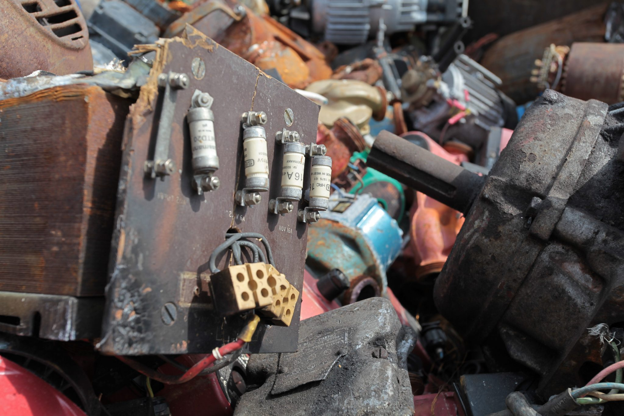 Scrap Metal Clearance in Alsager